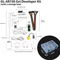 GL.iNet GL-AR150 Mini Travel Router with 2dbi external antenna, Wi-Fi Converter, OpenWrt Pre-installed, Repeater Bridge, 150Mbps High Performance, OpenVPN, Tor Compatible, Programmable IoT Gateway