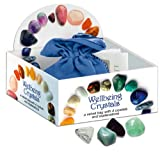 Wellbeing Crystal Talismans: 4 crystals in a velvet bag with instruction booklet