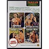 The Tarzan Collection Movie (English/French) Tarzan l'homme singe - Tarzan the Ape Man (1932) / Tarzan et sa compagne - Tarzan and His Mate (1934) / Tarzan s'évade - Tarzan escapes (1936) / Tarzan trouve un fils - Tarzan finds a son ! (1939) 4 Films