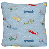 Cushion Cover Cath Kidston Fabric Decorative Throw Pillow Case Pattern Blue Planes