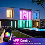Olafus 32.8ft WiFi Smart LED Strip Lights, TV Light