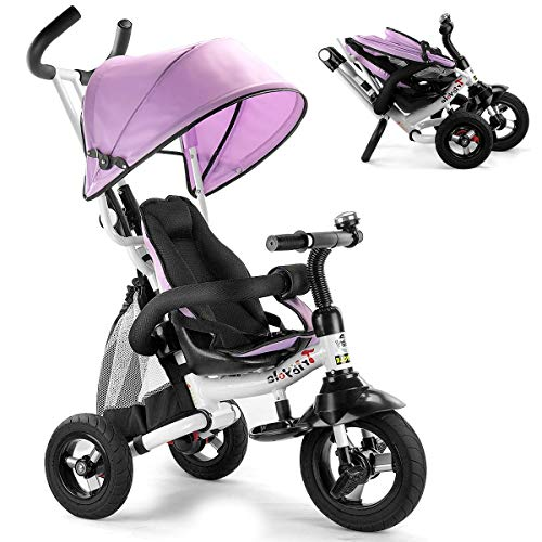 Costzon Baby Tricycle 6-in-1