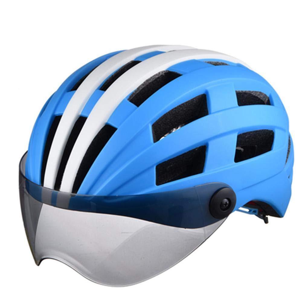 Relddd Fahrrad Helm Hergestellt von Eps + pc Brille Helm Fahrrad Helm Sport Outdoor Helm Helm
