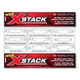 Racing Optics 10204C Buy 5 Get 1 FREE X-Stack Tearoffs -10204C-6