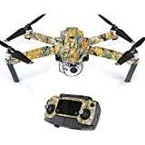 Skin For DJI Mavic – Mc2 Blaze | MightySkins Protective, Durable, and Unique Vinyl Decal wrap cover | Easy To Apply, Remove, and Change Styles | Made in the USA