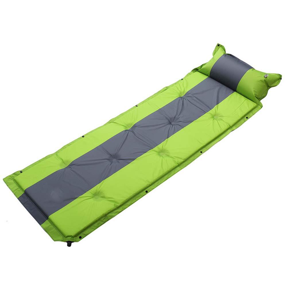 Unbekannt LEX Im Freien PVC-automatische aufblasbare Kissen-Feuchtigkeits-Auflagen-kampierende schlafende Auflage 3cm stark