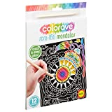 ALEX Art Colorave Scra-ffiti Mandala Coloring Set