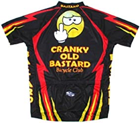 4f0774a6f Cranky Old Bastard Bicycle Club Team Cycling Jersey Men s Short Sleeve