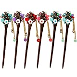 MERYSAN Vintage Hair Stick Stylish Hairpin Hair