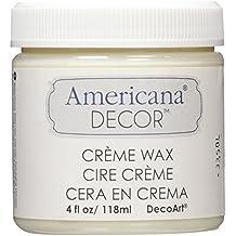 Deco Art Americana Decor Creme Wax, 4-Ounce, Clear