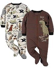 Gerber Paquete de 2 Sleep 'N Play Mamelucos para bebs y Nios pequeos para bebés niños