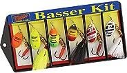 Mepps Hot Basser Kit - 6 Lure asstd, Multi, one Size (KHB3A)