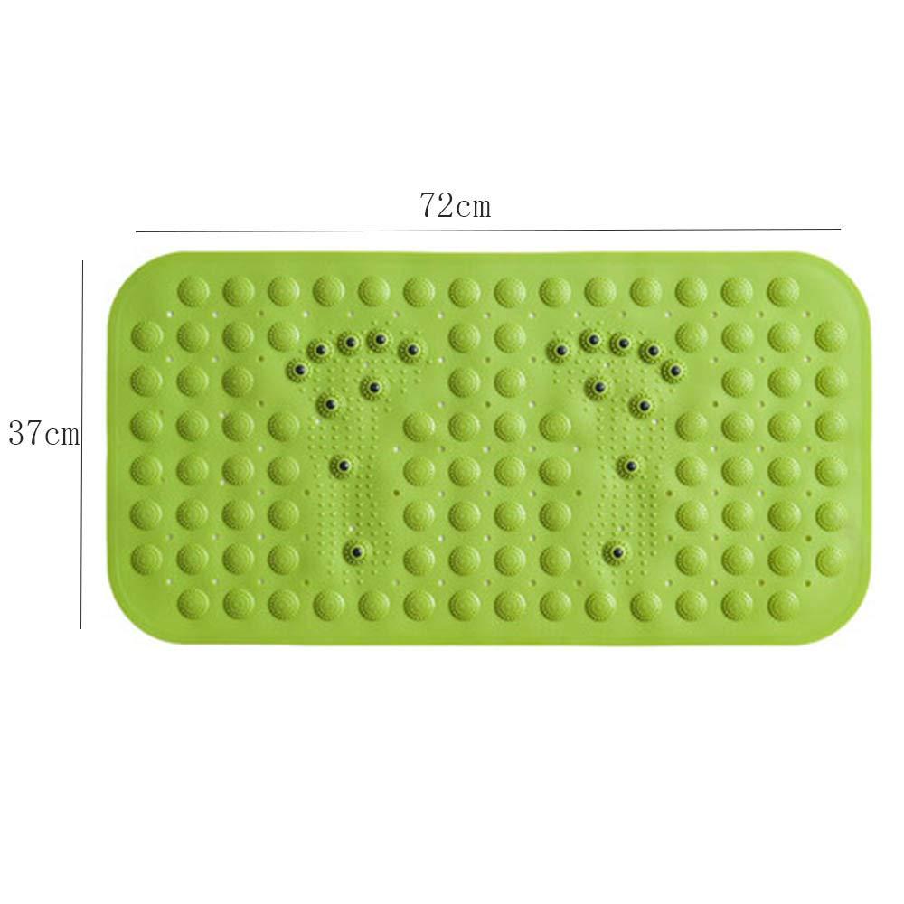 HONGYANDAI Duschmatte Badezimmer Anti-Rutsch-PVC-Badewanne Mit Saugnapf Massage Massage Massage Fuß SanitäR Intervall Wassermatte (72  37cm) B07KLZNQ6T Duschmatten 9483fb