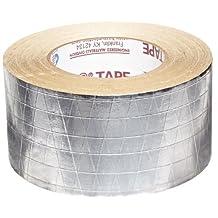 Nashua FSK Foil-Scrim-Kraft Insulation Jacketing Tape, 50 yds Length x 72mm Width, Aluminum