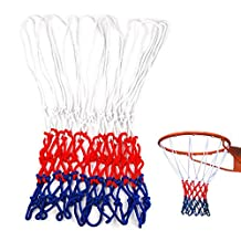 Edealing 5PCS Indoor Outdoor Sports Standard Durable Nylon Basketball Goal Hoop Net Netting