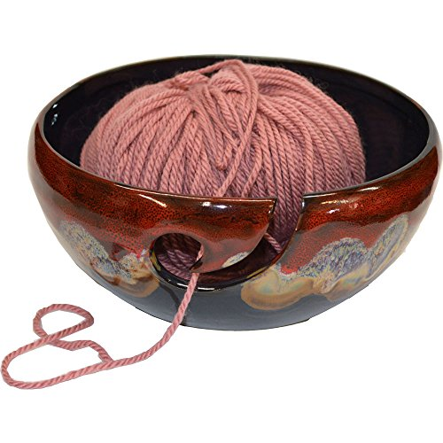 Yarn Bowl in Dreamsicle glaze