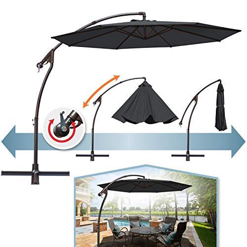 BenefitUSA 10'Cantilever Patio Umbrella