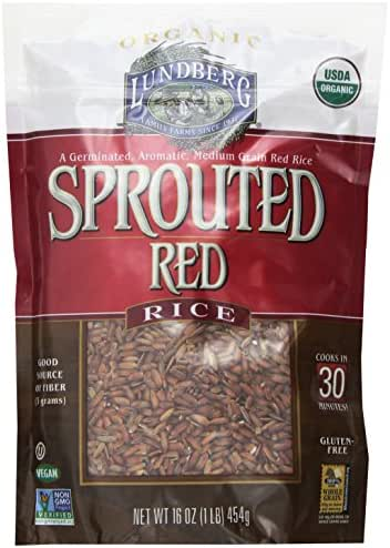 Rice: Lundberg Sprouted Red Rice