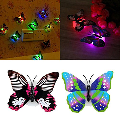 Led 3D Butterfly Night Lights - 8