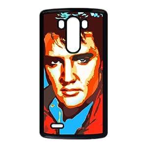 LG G3 Cell Phone Case Black Elvis AAS Unique Fashion Phone Case