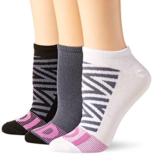 Crew Tennis Adidas Socks (adidas Women's Superlite No Show Socks (3-Pack), Black Print/Onix/Marshmallow Purple, Medium)