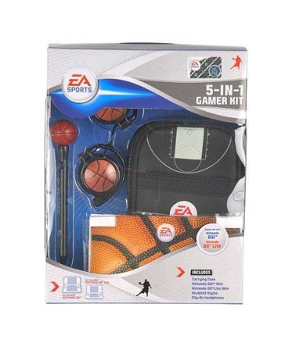 Sakar Ea Sports 5-in-1 Gamer Kit for Nintendo Dsi and Ds Lite (Nintendo Ds Lite Games Sports)