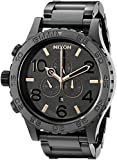 Nixon Men's A083957 51-30 Black Stainless Steel Chrono Watch