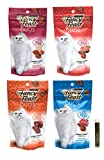 Purina Fancy Feast DUOS Cat Treat Variety Pack - 4 Flavors - 4 Total Pouches (2.1 Ounces Each) (4 Pack)