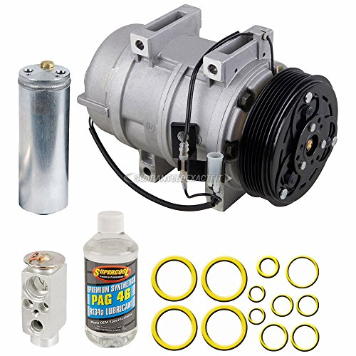 AC Compressor w/A/C Repair Kit For Volvo S60 & S80 - BuyAutoParts 60-80413RK New ()