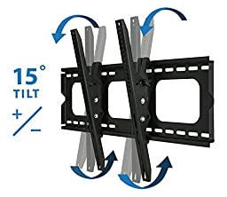 Mount-It!  MI-303B Heavy-Duty Tilting and Locking Low Profile LCD, LED, or Plasma Wall Mount (60'' Screen size)