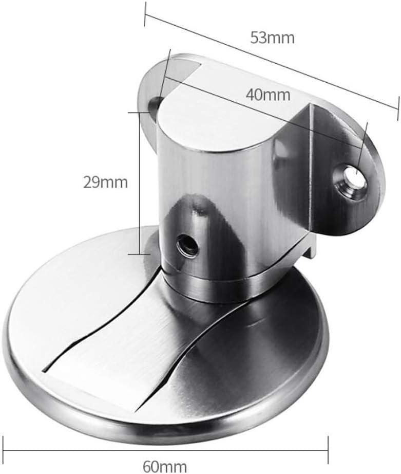 fermaporta a pavimento in acciaio inox 304 spazzolato Fermaporta Magnetico in Metallo protezione invisibile per porte domestiche Fermaporta regolabile