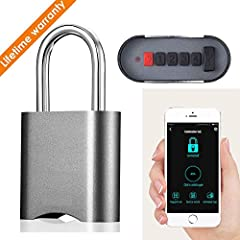 【Secure & reliable authentication】 Your Phone is the password.The number password provides a safe and private way to unlock and authenticate. 【Smart APP】 Smart APP help you run its own strong appliction in Xiangge Smart lock.You can direc...