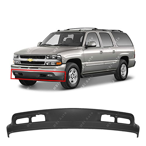 MBI AUTO - Textured, Dark Gray Front Bumper Lower Air Deflector Valance for 1999-2002 Chevy Silverado 99-02 & 2000-2004 Suburban & Tahoe 00-04, GM1092167 ()
