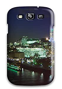 Best Tpu Case Cover For Galaxy S3 Strong Protect Case - City Of London Design