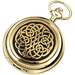 Woodford Men's Mechanical Pocket Watch with White Dial Analogue Display 1948/SK