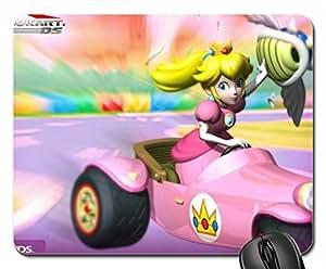 Mariokart DS princess peach Mouse Pad, Mousepad (10.2 x 8.3 x 0.12 inches)