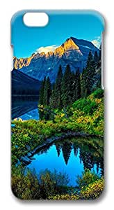 iPhone 6 Cases, Hdr Mountains Lake Protective Snap-on Hard Case Back Cover Protector Slim Rugged Shell Case For iPhone 6 (4.7 inch) hjbrhga1544