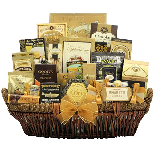 New Year's Grand Gourmet: Gourmet New Year's Gift Basket