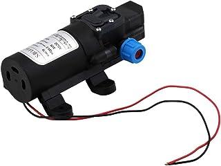 Dailyinshop DC 12V 30W 3L / min de Agua de diafragma de la Bomba autocebante Incorporado en la válvula de retención