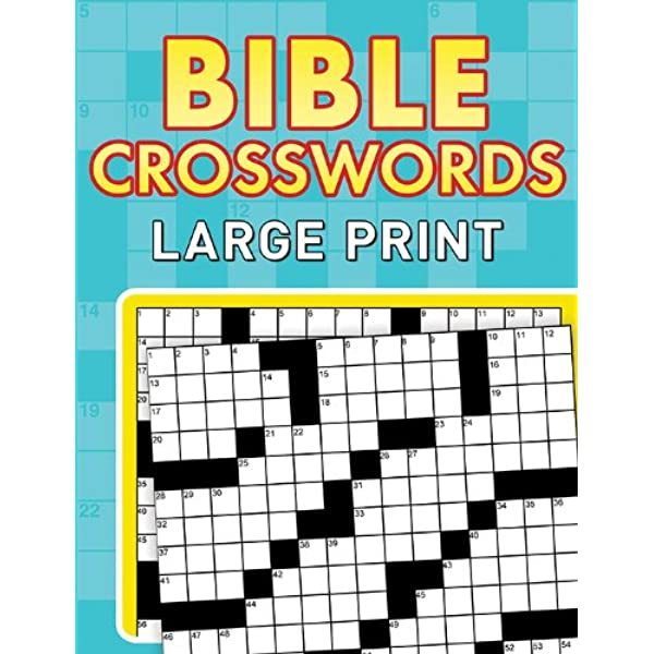 Bible Crosswords Large Print Compiled By Barbour Staff 9781624168727 Amazon Com Books
