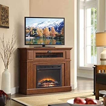 Amazon Com Media Fireplace Tv Stand Combo For Televisions