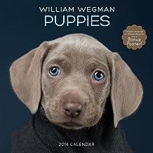 William Wegman Puppies 2014 Wall Calendar