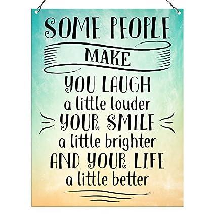 Amazon Com Lionkin8 Some People Make You Laugh Friendship Quote