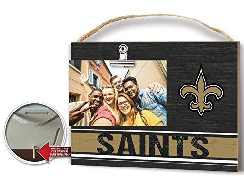 KH Sports Fan Clip It Colored Logo Photo Frame New Orleans Saints