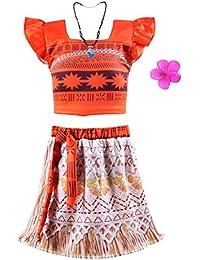 Little Girls Princess Moan Costume Two-Piece Dress up