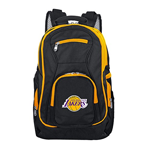Denco NBA Los Angeles Lakers Colored Trim Premium Laptop Backpack for $<!--$84.45-->