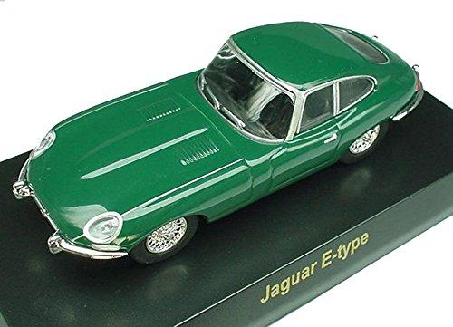 京商 1/64 ブリティッシュ ミニカーコレクション ジャガー Eタイプ 緑 B00XTZX55K