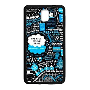 Happy Cest la vie simple patten Cell Phone Case for Samsung Galaxy Note3