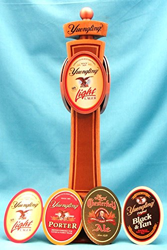 Yuengling Beer Heritage Interchangeable 12in Three Sided Wood Tap Handle by Yuengling