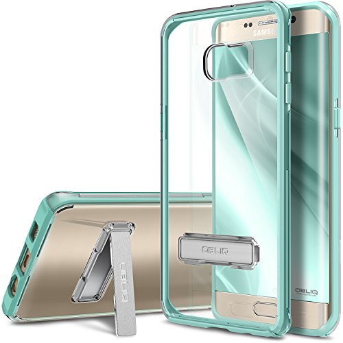 Galaxy S6 Edge Plus Case, OBLIQ [Naked Shield][Mint] - with Kickstand Thin Slim Fit TPU Bumper Hard Hybrid Shock Resist Protective Crystal Clear Cover for Galaxy S6 Edge+